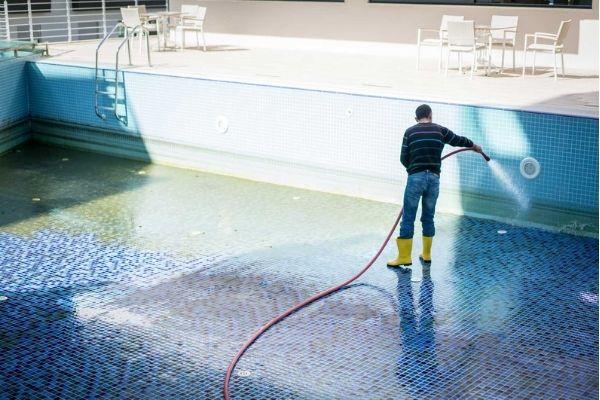 acid wash pool cleaner with hose